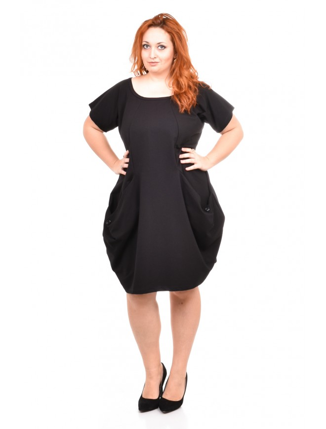 Catherina Black Dress