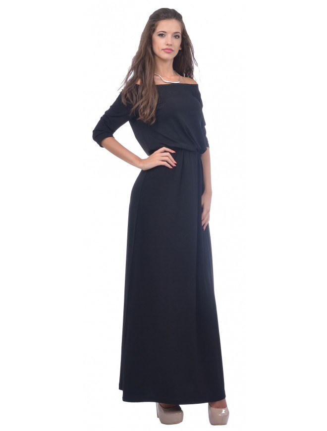 Svetomira Black Dress