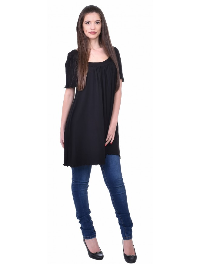 Radislava Black Tunic