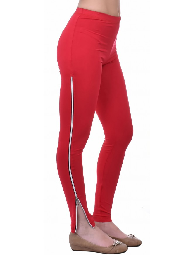 Vasenka Red Leggings