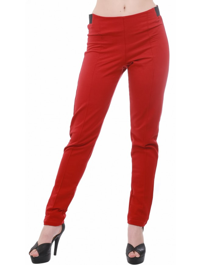 Izabela Red Trousers