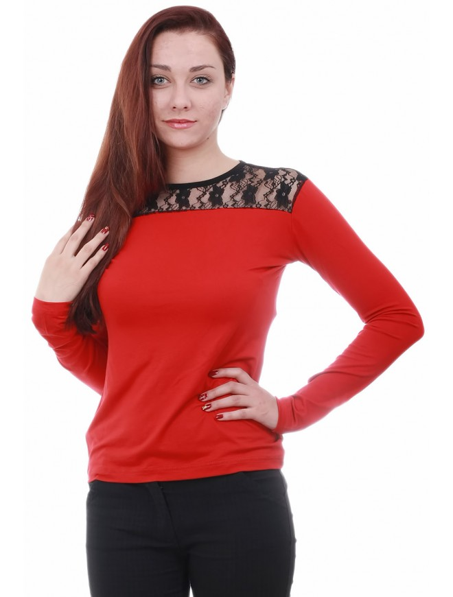 Anislava Red Blouse