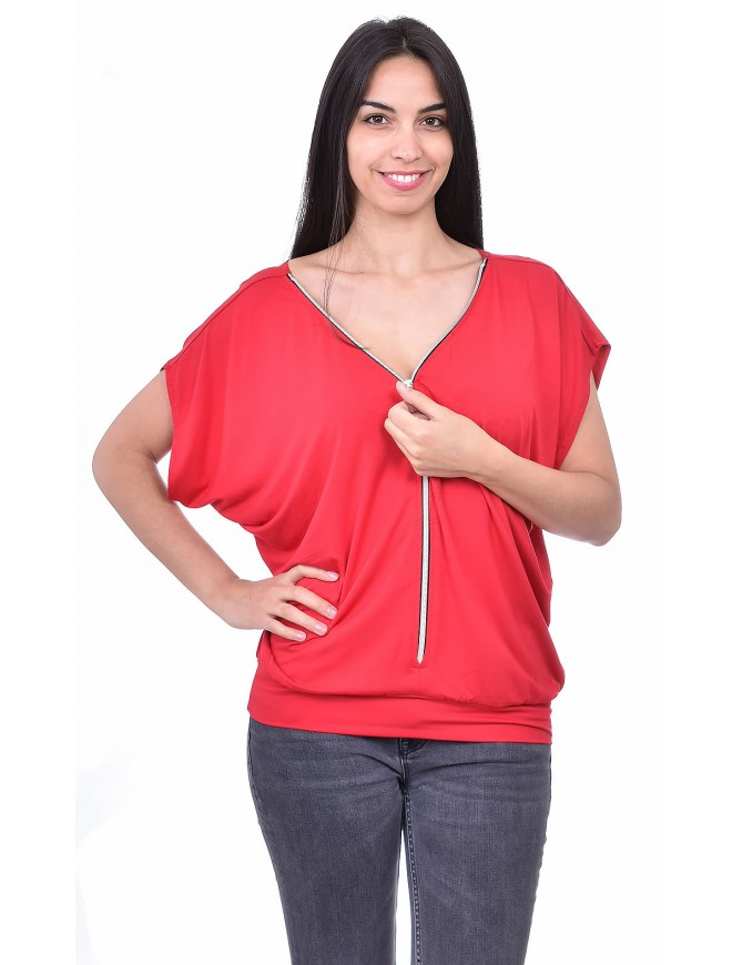 Evropa Red Blouse