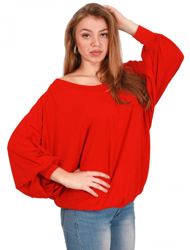 Teodosia Red Blouse