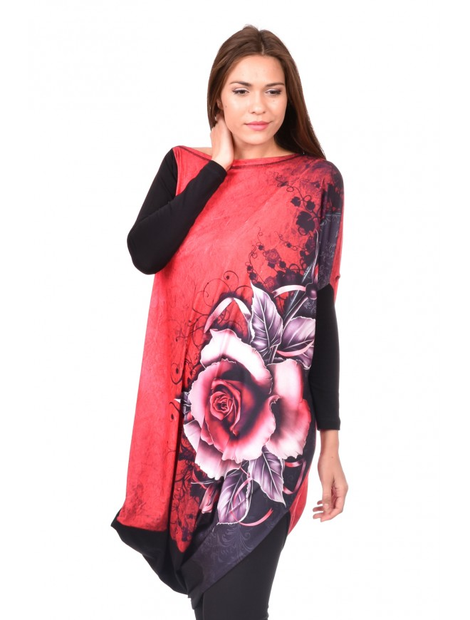 Tunic in Red Maria-Kiara