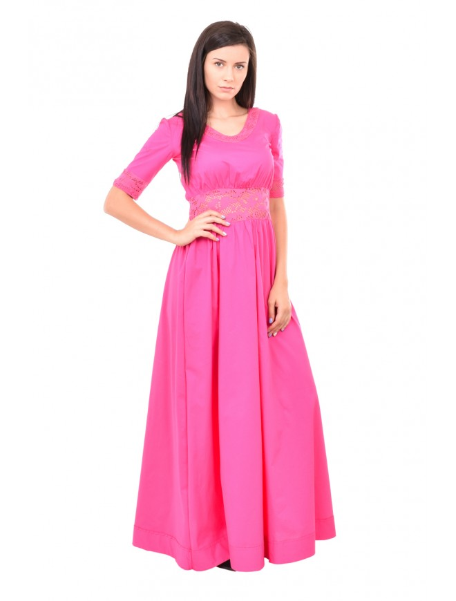 Long pink dress Vladiana