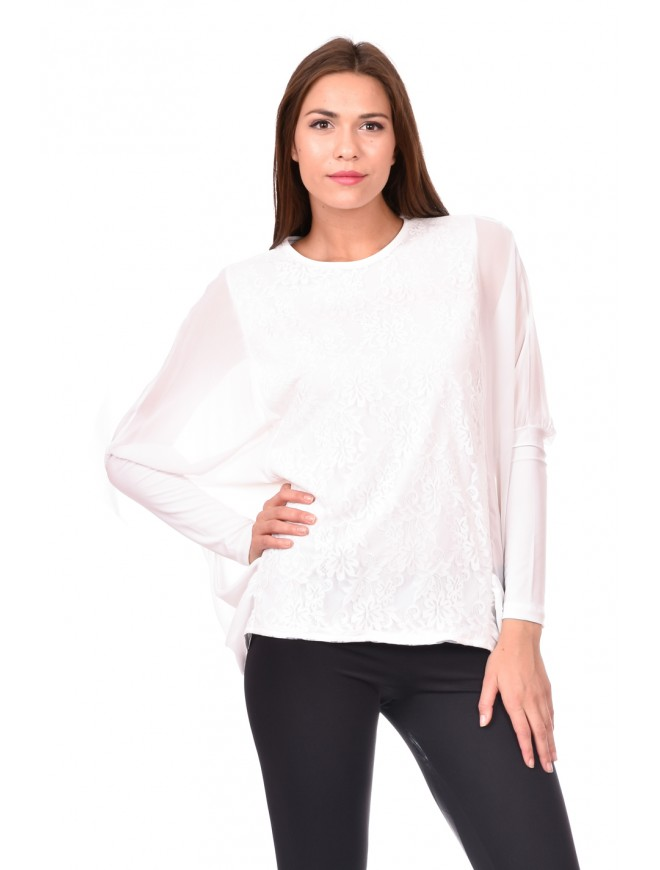 Ladies white blouse Ralitsa