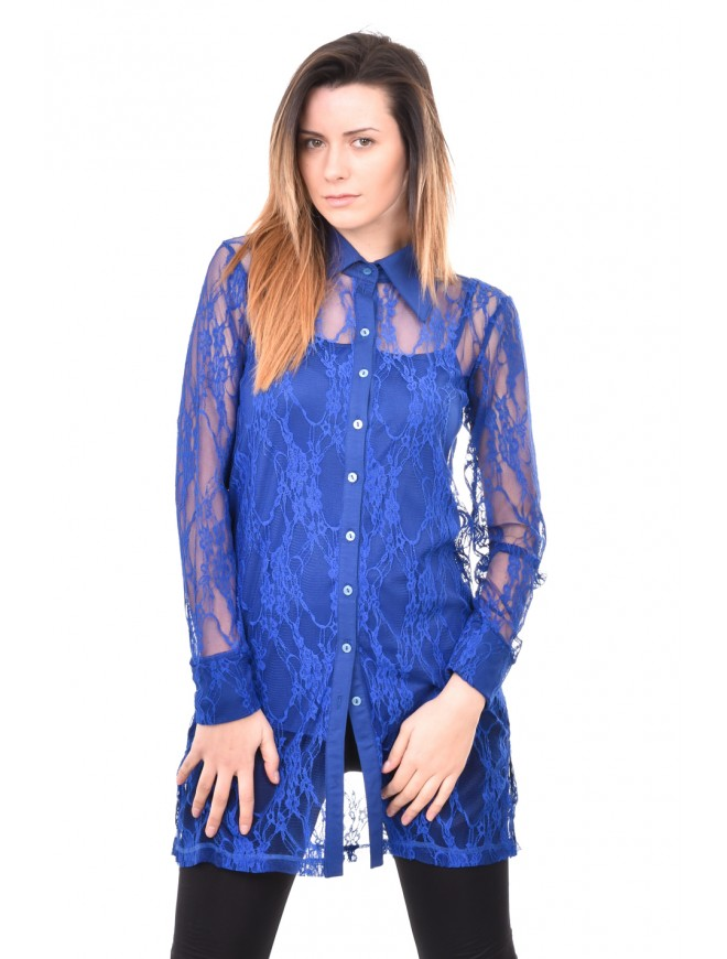 Lace shirt with long sleeves Milenita