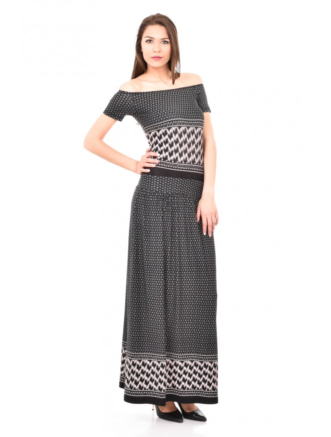 Off the shoulder long dress Sevdalina