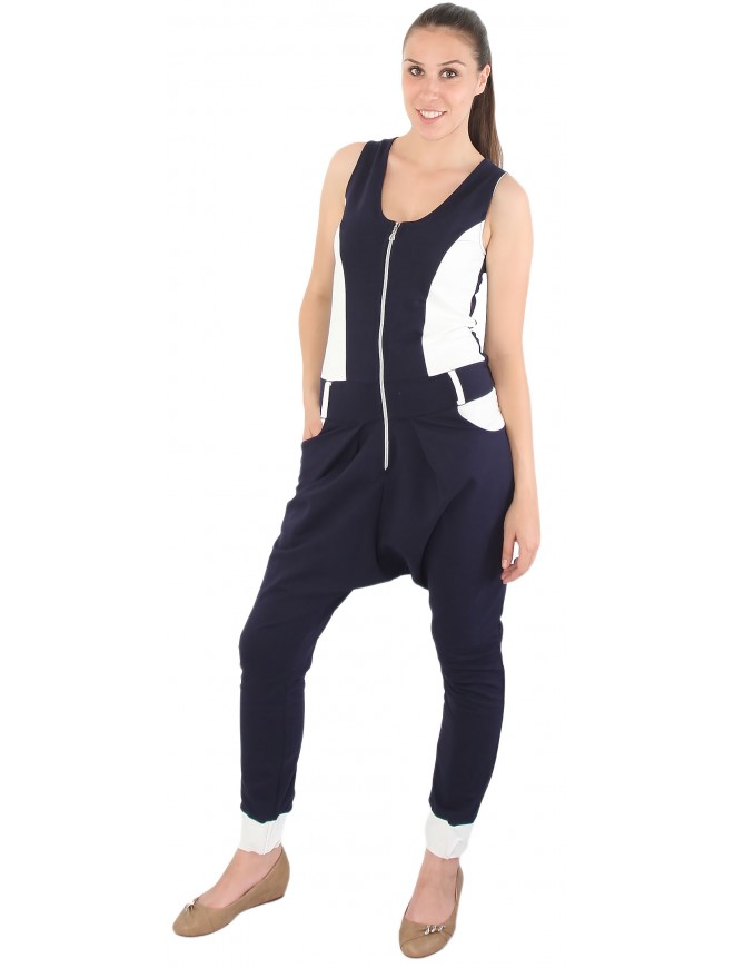 Zhenimira Double-colored Jumpsuit
