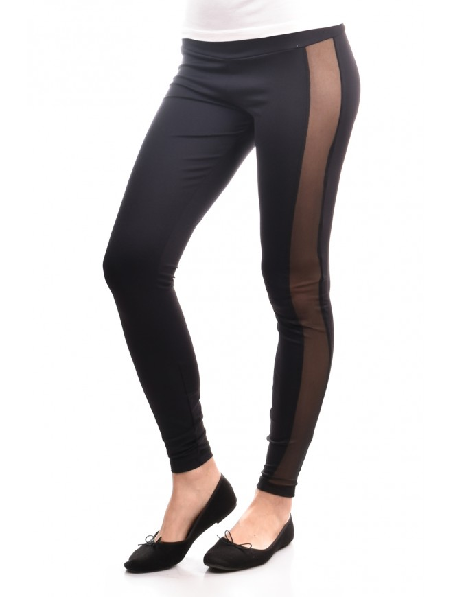 Extravagant leggings with mesh elements Malila