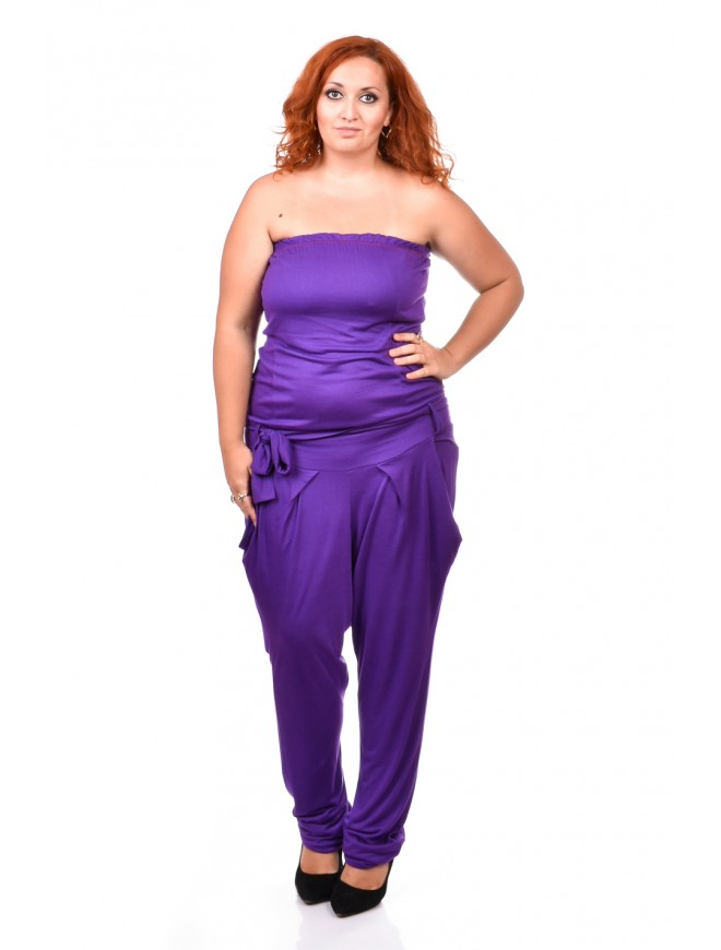 Simone Jumpsuit with a Belt