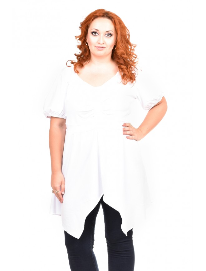 Olivera White Tunic