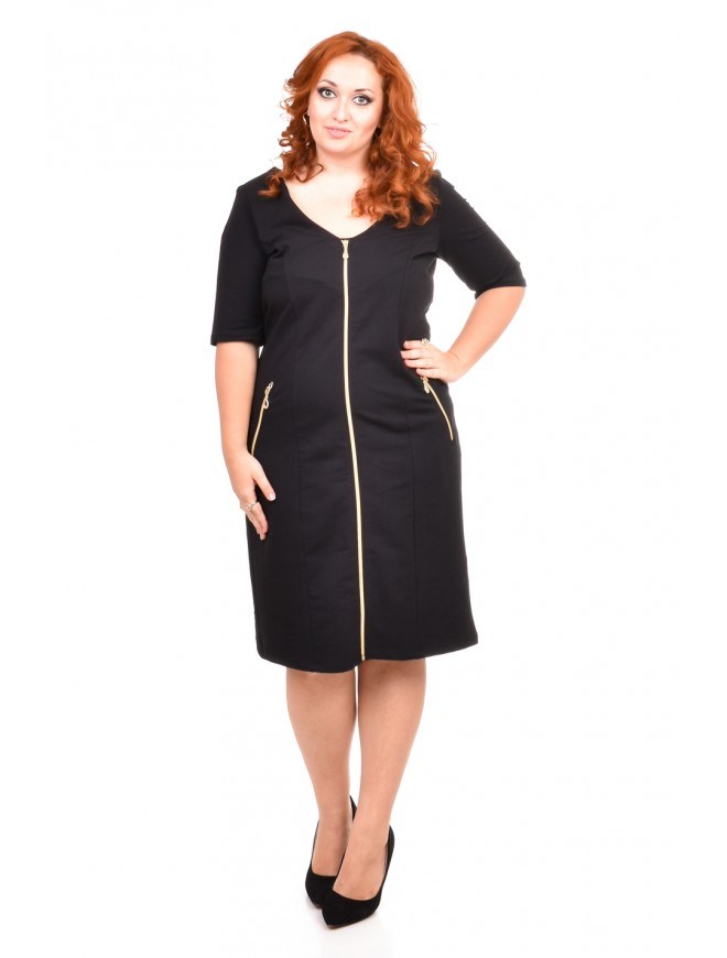 Vilimira Black Dress