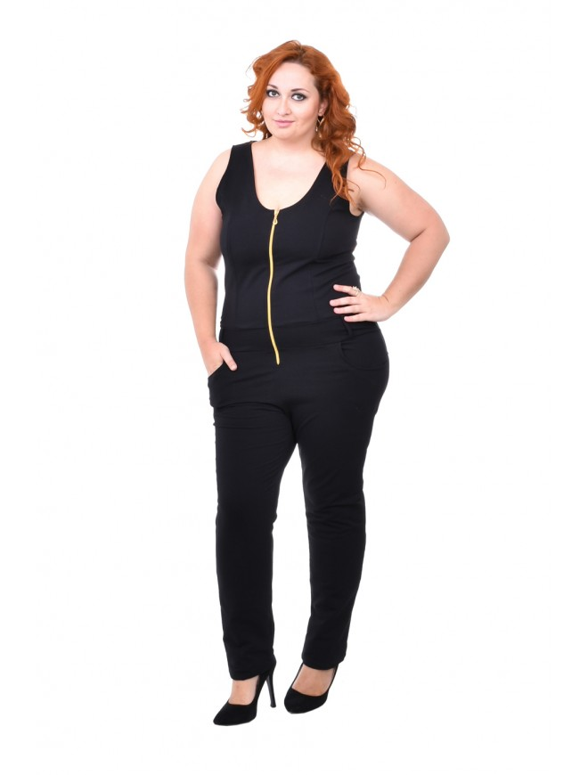 Gergana Black Jumpsuit