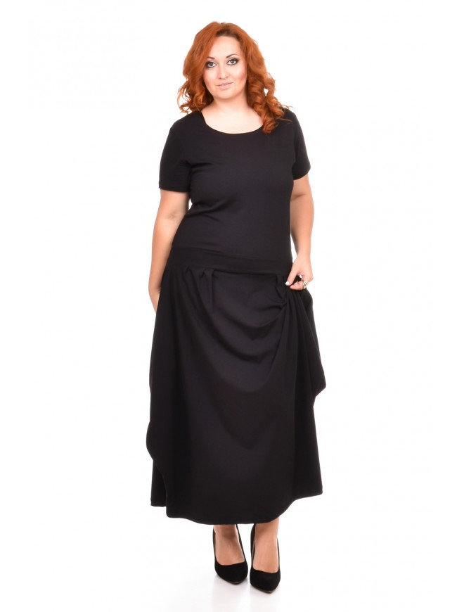 Roslana Black Dress