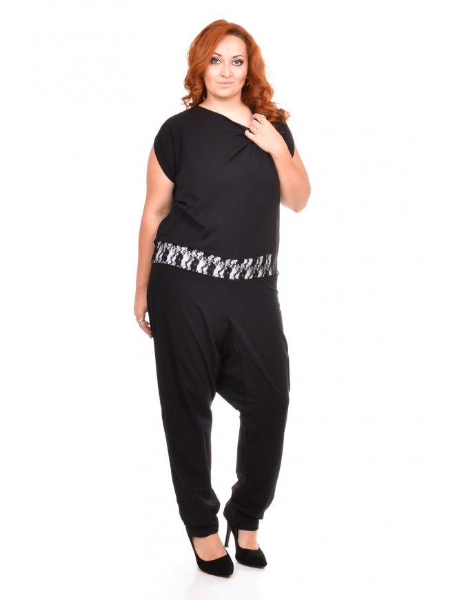 Jerina Black Jumpsuit
