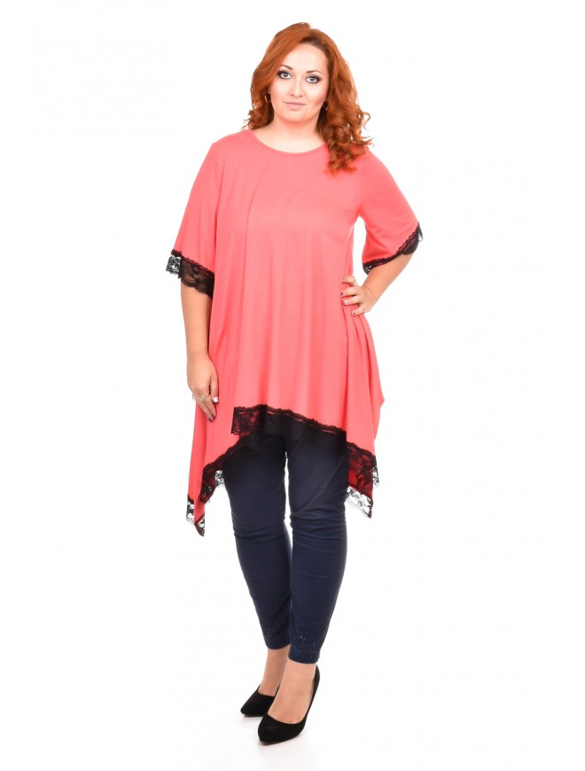 Gerdana Tunic with Lace