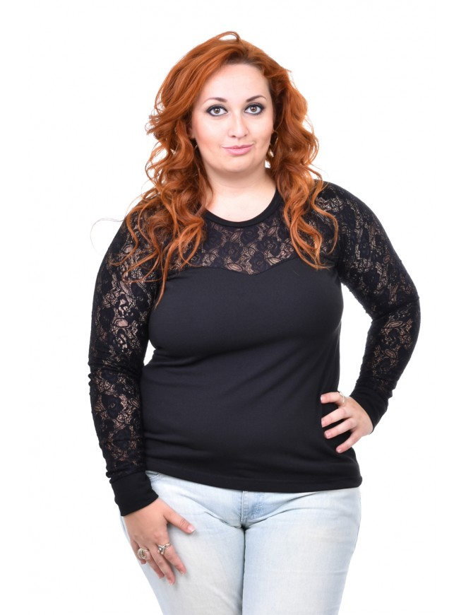 Beliza Black Blouse