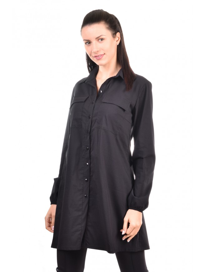 Stylish shirt in black Miya-Diya