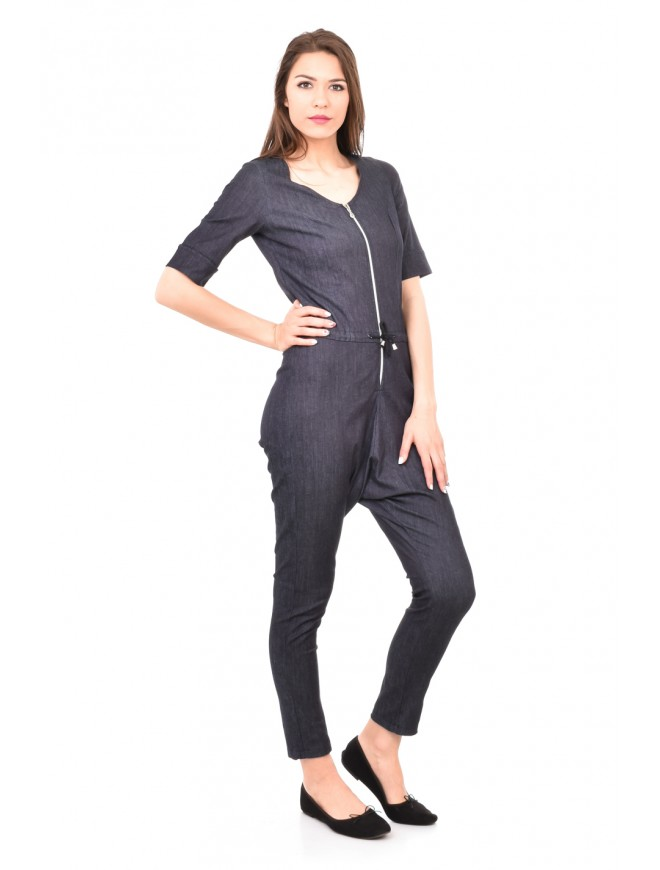 Interesting denim jumpsuit Medena