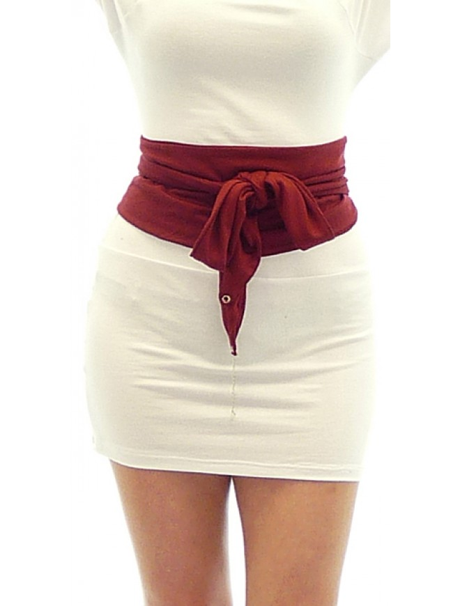Lalka Belt in Bordeaux Color