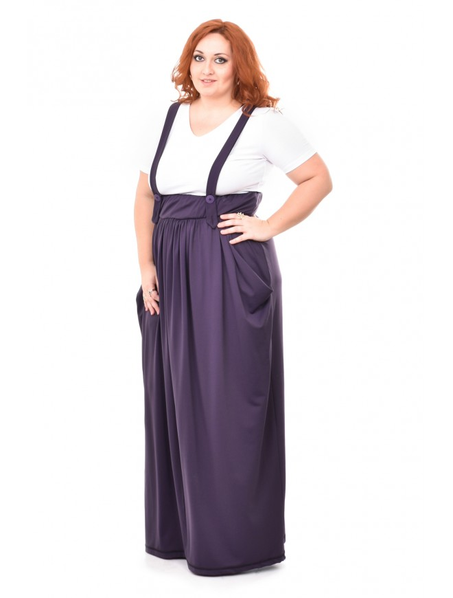 Zvetelia Purple Pinafore