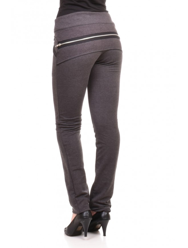 Trousers in dark gray Morina