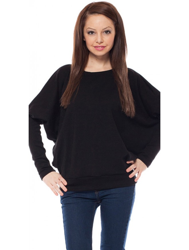 Norka Black Knitted Blouse