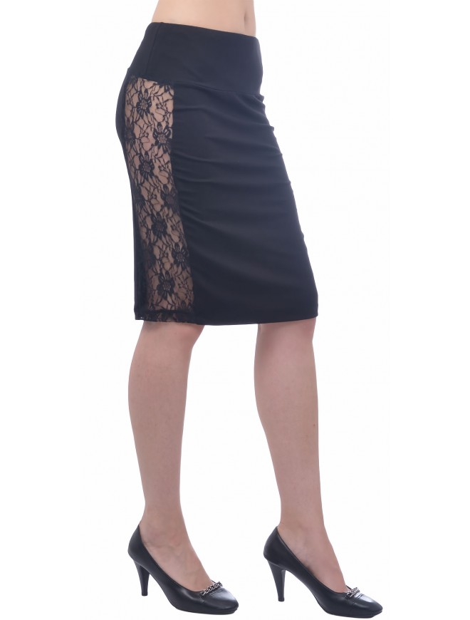 Veselena Skirt with Lace