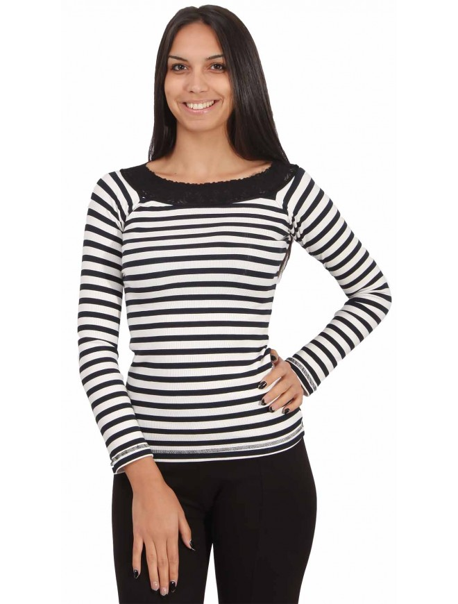 Sevastia Striped Blouse
