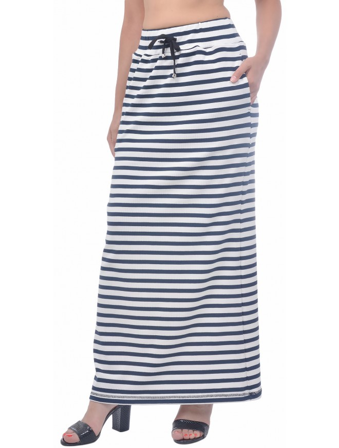 Dorina Striped Skirt