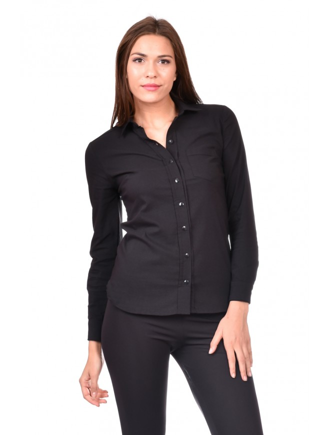 Shirt in black Tasia