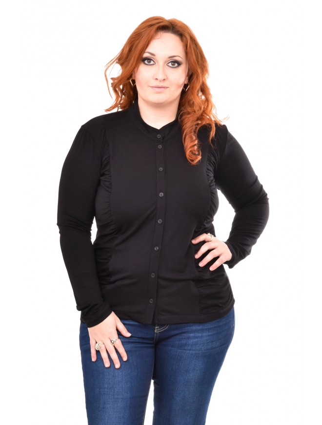 Zefira Shirt in Black