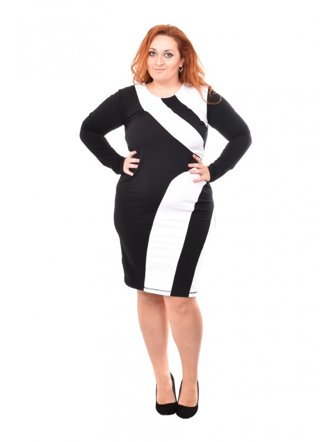 Kitka Black and White Dress