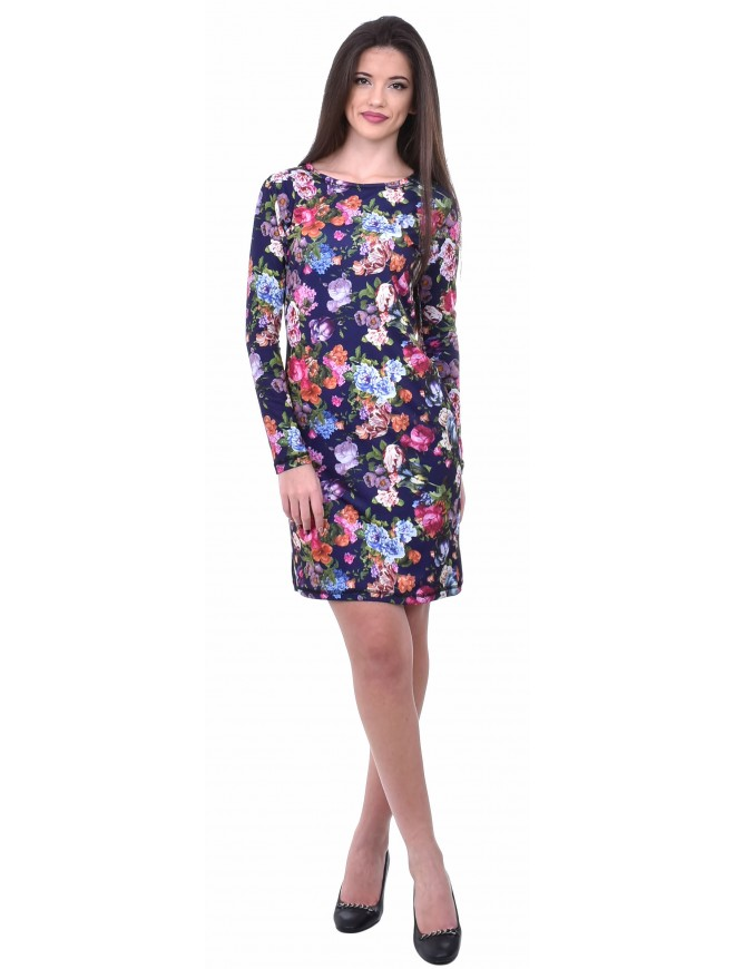 Damena Dress with Flowers