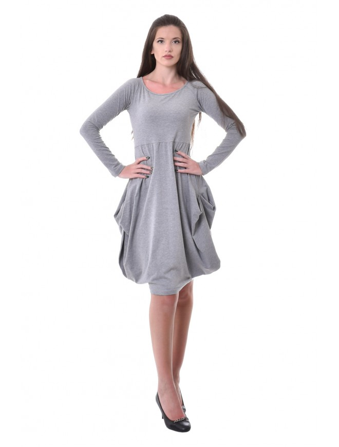 Andreana Dress with Long Sleeves