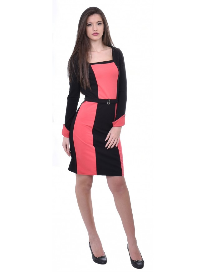 Beaneta Dress with Long Sleeves
