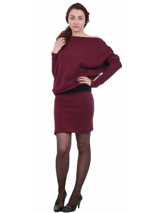 Yanislava Dress with Long Sleeves
