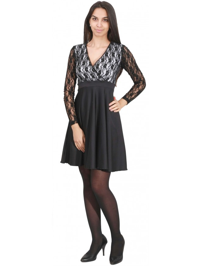 Floraya Dress with Lace