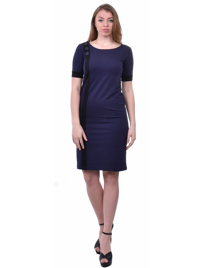 Romoleta Dress with Short Sleeves