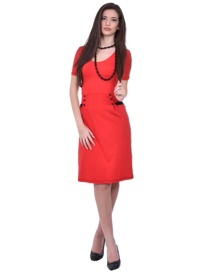 Vasiyana Dress with Short Sleeves