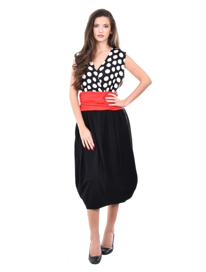 Polka dot dress Klementina