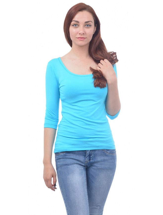 Chloe Blue Blouse