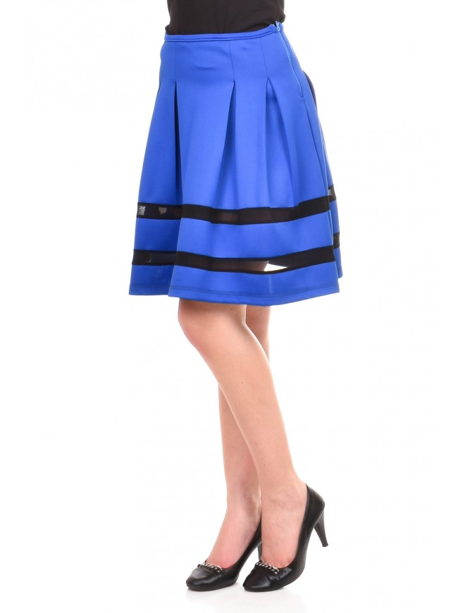 Neoprene blue skirt Benelina