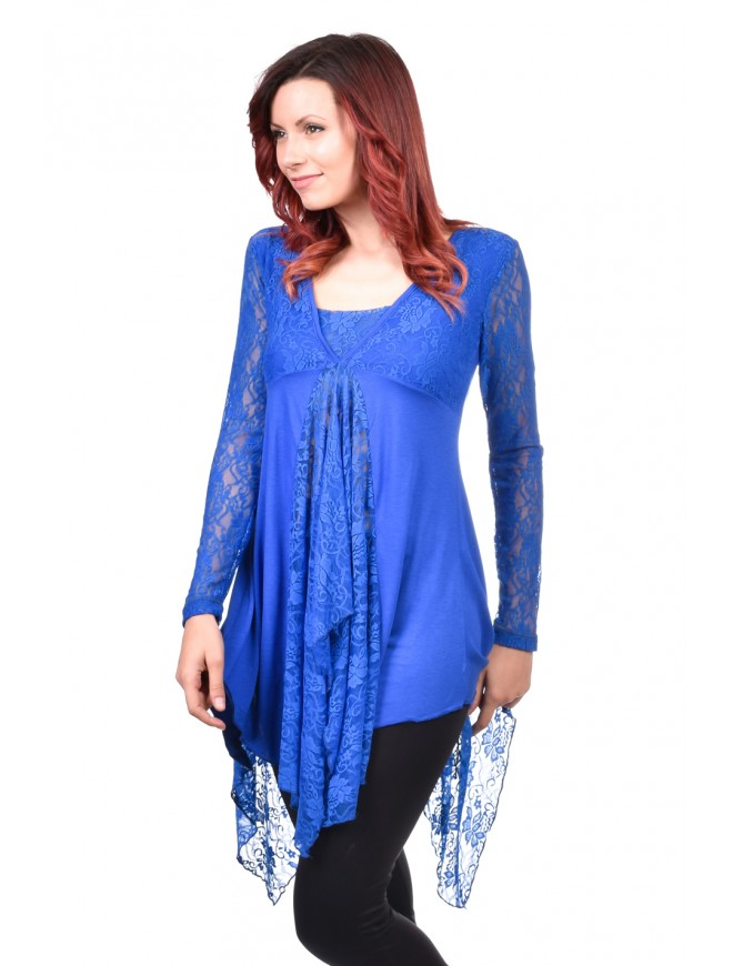Blue Tunic Love