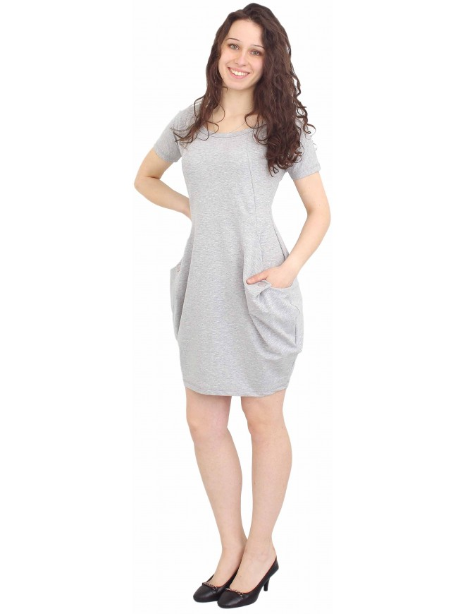 Catherina Gray Dress