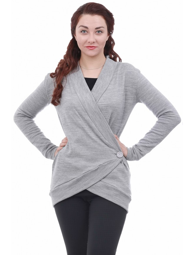 Leti Gray Cardigan