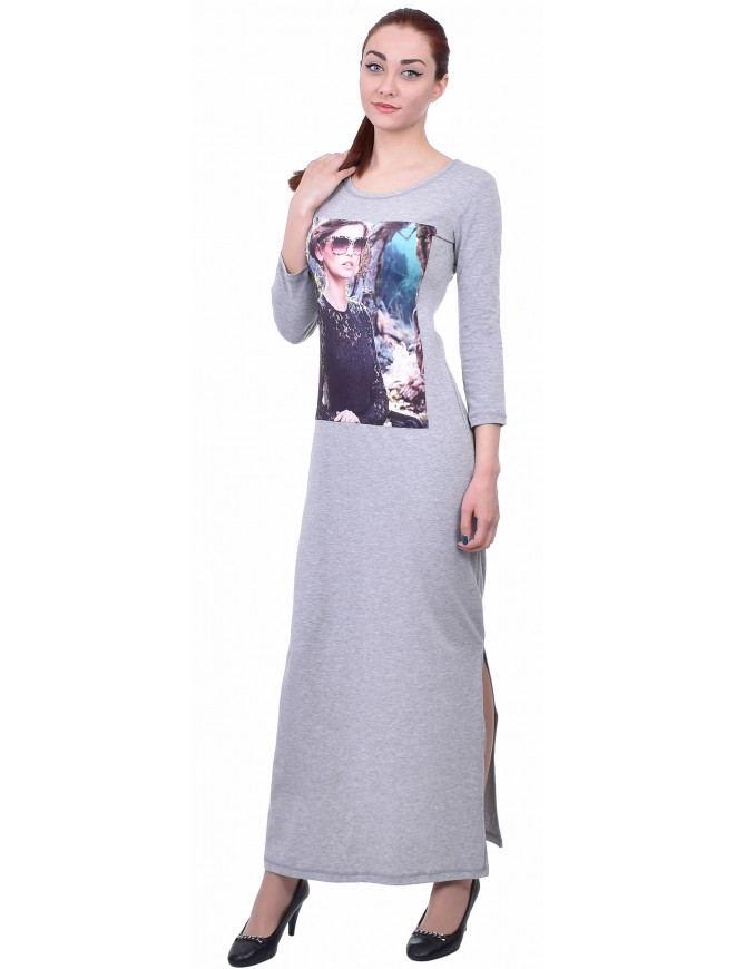 Mirella Light Gray Dress