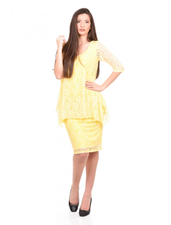 Summer dress in yellow Djuliana